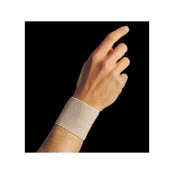 Beige 6 cm lined wrist band - 0704
