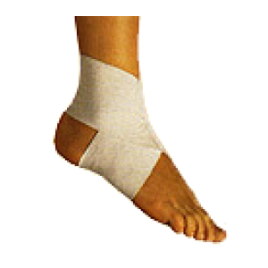 Ankle Sleeve with Crossover - 1 Pair - 0605