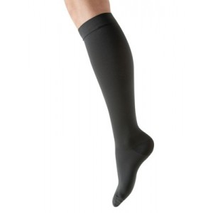 KKL1 unisex Microfibre Decreasing Compression Therapeutic Knee Stocking - closed toe - 2410