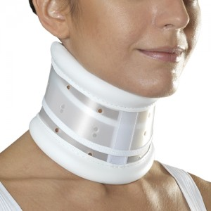 C3 cervical collar, rigid, Schanz or Zimmer type - 1116
