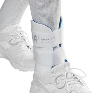 Honeycomb Form Fit® - Bivalve cast left ankle support - 0627