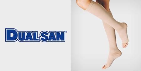 DUALSAN® - COMPRESSION HOSIERY LINE